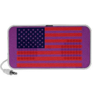 American Dandy Yankee-Doodle Color Flag Mp3 Speaker