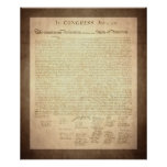 American Declaration of Independence Print