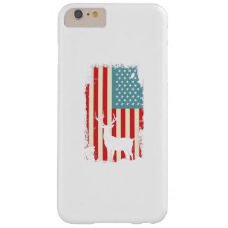 American Deer Hunter Patriotic For Men Women Barely There iPhone 6 Plus Case