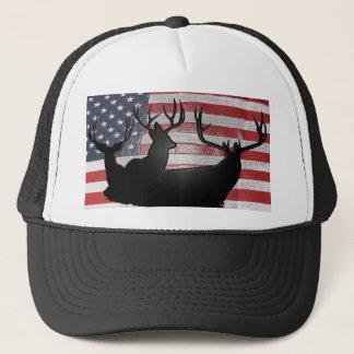 American Deer hunter Trucker Hat