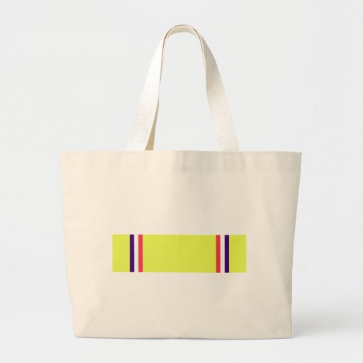 American Defense Service Ribbon Canvas Bags