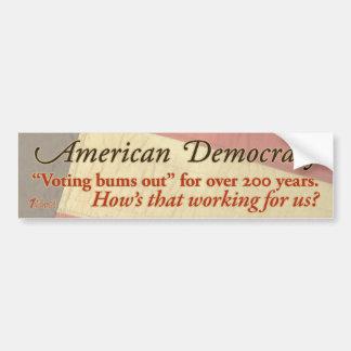 American Democracy Bumper Stickers