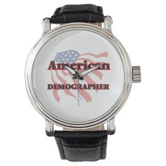 American Demographer Wrist Watches