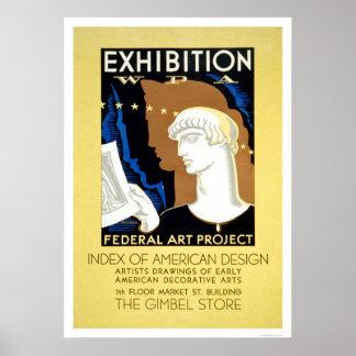 American Design 1936 WPA Poster