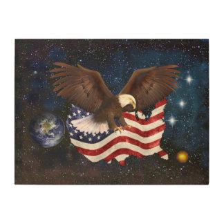 AMERICAN DESTINY WOOD WALL ART