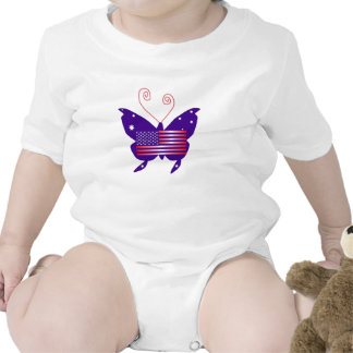 American Diva Butterfly Baby Creeper