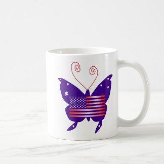 American Diva Butterfly Mugs