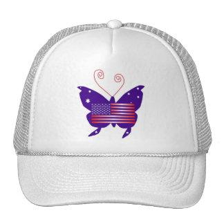 American Diva Butterfly Trucker Hat