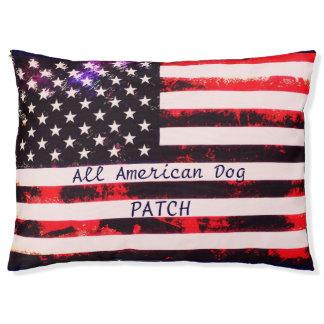 American Dog Dream Pet Bed