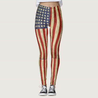American Dream Flag Leggings