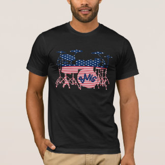 American Drum Set T-Shirt