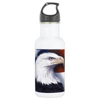 American Eagle and Flag 532 Ml Water Bottle