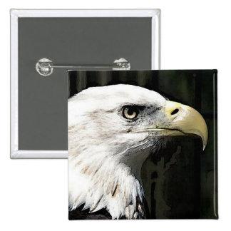 American Eagle Pinback Button