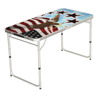 American eagle beer pong table