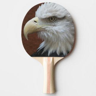 American Eagle Bird & Flag Paddle Ping Pong Paddle