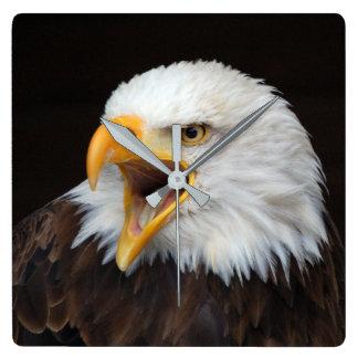 AMERICAN EAGLE - by Jean Louis Glineur Wall Clock