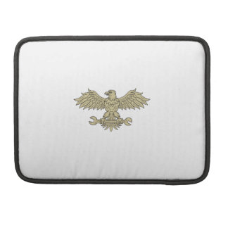 American Eagle Clutching Spanner Drawing Sleeve For MacBooks