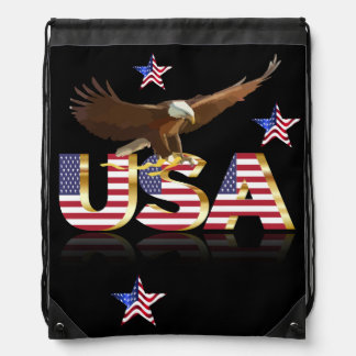 American eagle drawstring bag