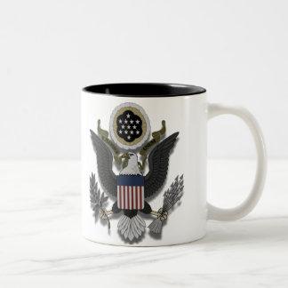 American Eagle E Pluribus Unum Two-Tone Coffee Mug