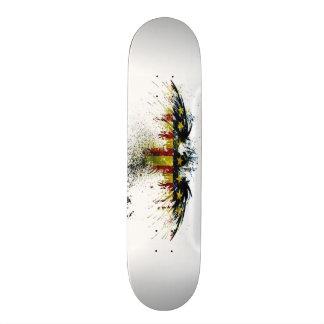 American Eagle Grunge Custom Pro Park Board 21.3 Cm Mini Skateboard Deck