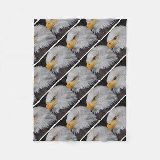 AMERICAN EAGLE - Jean Louis Glineur Photography Fleece Blanket