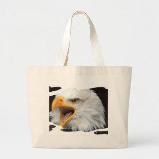 AMERICAN EAGLE - Jean Louis Glineur Photography Large Tote Bag