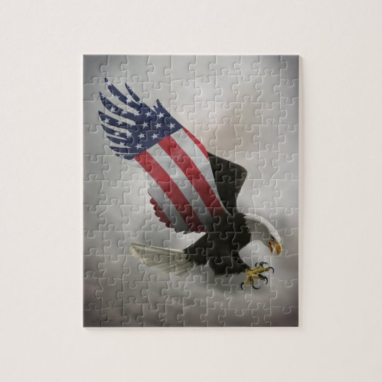 American Eagle Jigsaw Puzzle