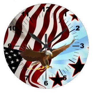 American eagle large clock