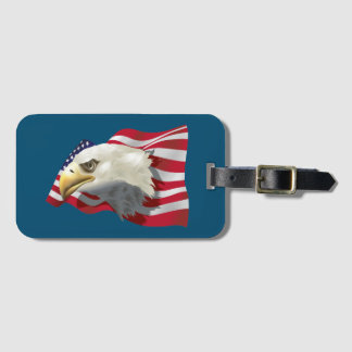American Eagle Luggage Tag