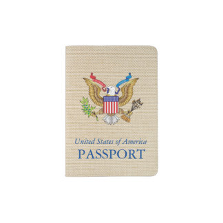 American eagle passport holder