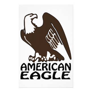 American Eagle Personalized Stationery