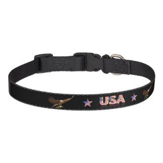 American eagle pet collar