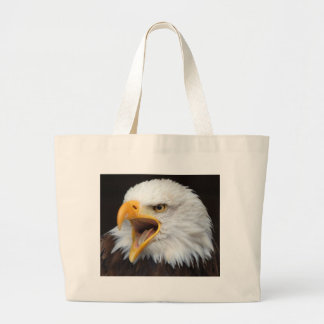 AMERICAN EAGLE - Photography Jean Louis Glineur Large Tote Bag