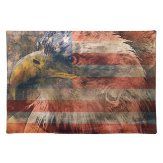 American eagle placemat
