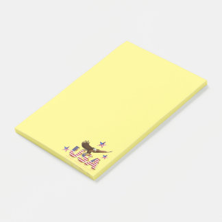 American eagle post-it notes