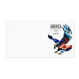 American Eagle Postage Labels