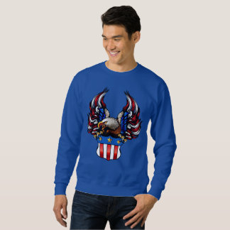 American Eagle, Red White & Blue, Patriot, Sweatshirt