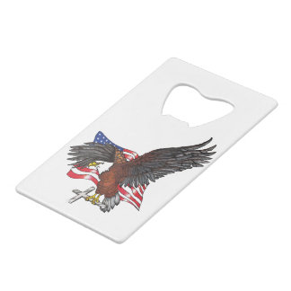 American Eagle with Cross