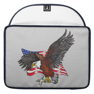 American Eagle with Cross Sleeve For MacBook Pro