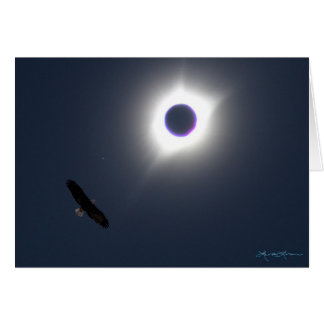 American Eclipse August 21, 2017 Card