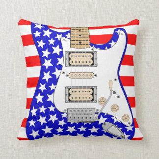 American  Electric Guitar Cushion