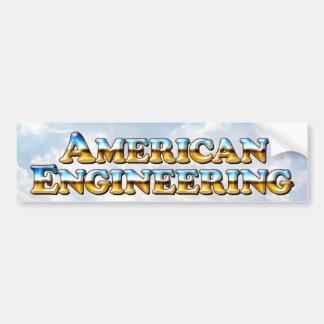 American Engineering - Bumper Sticker Car Bumper Sticker