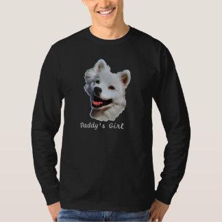 American Eskimo Black Long Sleeve T-Shirt