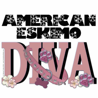 American Eskimo DIVA Photo Cutout