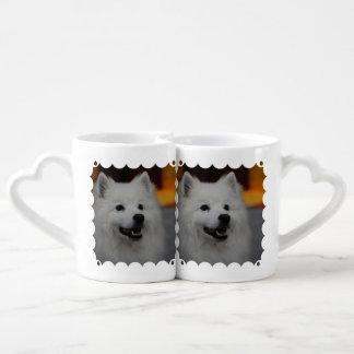 american-eskimo-dog-2.jpg lovers mug sets