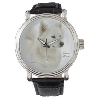 American Eskimo Dog Art Watch