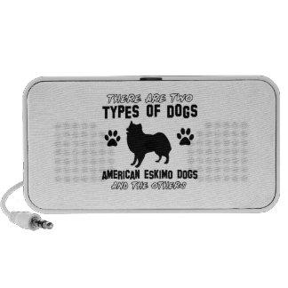 American eskimo Dog dog designs iPod Speaker