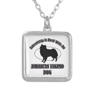 AMERICAN ESKIMO DOG DOG DESIGNS PENDANT