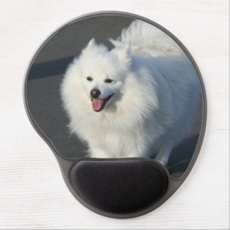American Eskimo dog Gel Mouse Pad