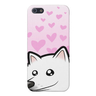 American Eskimo Dog / German Spitz Love iPhone 5 Case